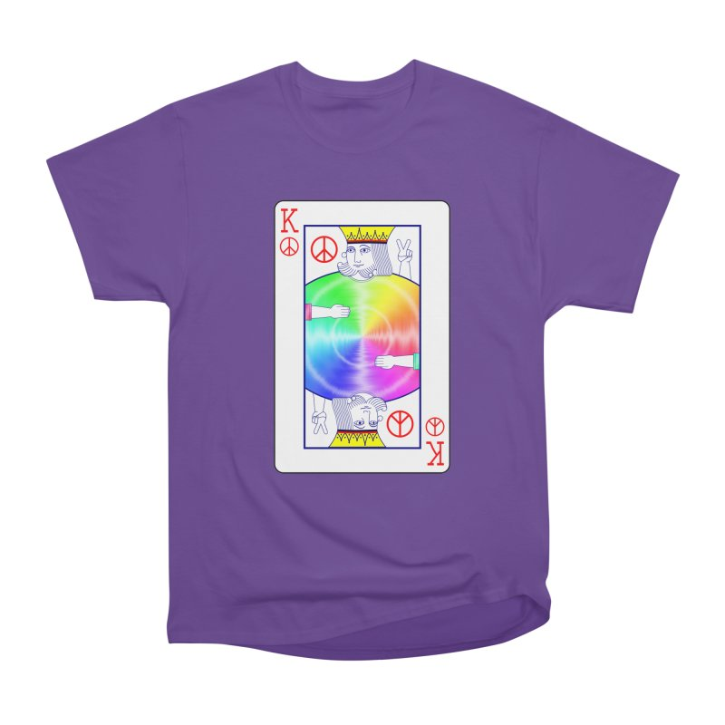 Peace Rules Women's Heavyweight Unisex T-Shirt by Eriklectric's Artist Shop
