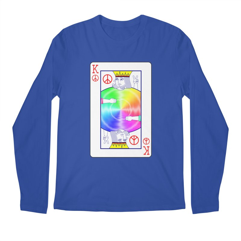 Peace Rules Men's Regular Longsleeve T-Shirt by Eriklectric's Artist Shop