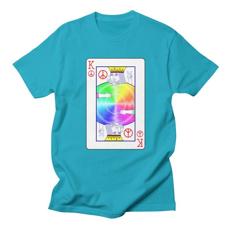 Peace Rules Men's T-Shirt by Eriklectric's Artist Shop