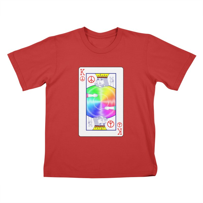 Peace Rules Kids T-Shirt by Eriklectric's Artist Shop