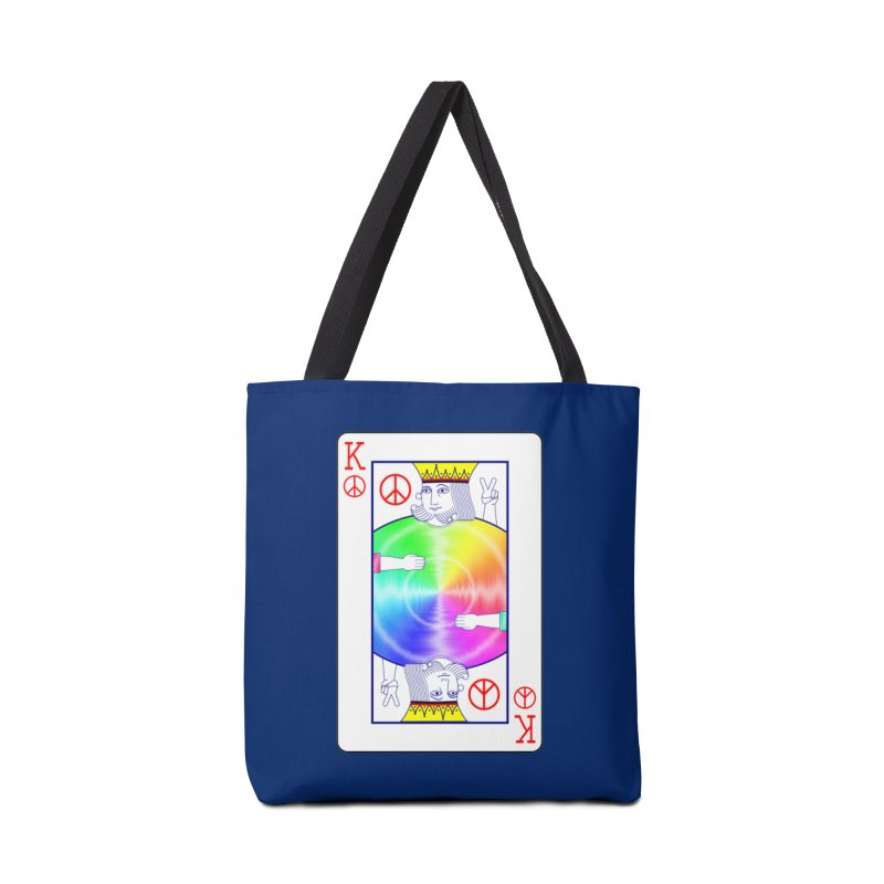 Peace Rules Accessories Tote Bag Bag by Eriklectric's Artist Shop