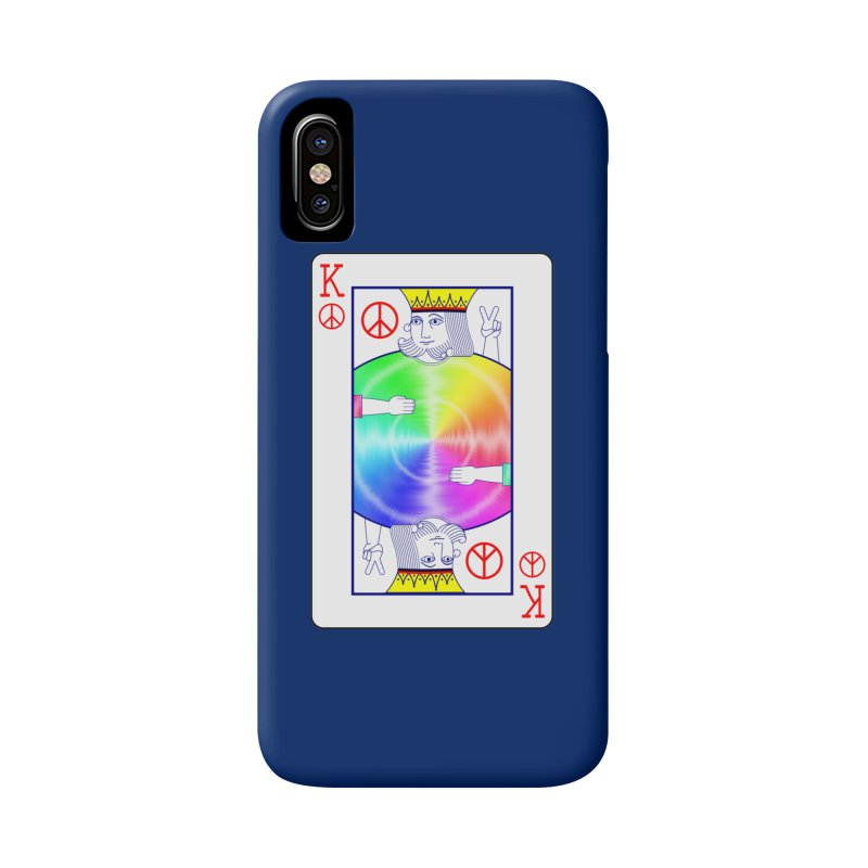 Peace Rules Accessories Phone Case by Eriklectric's Artist Shop