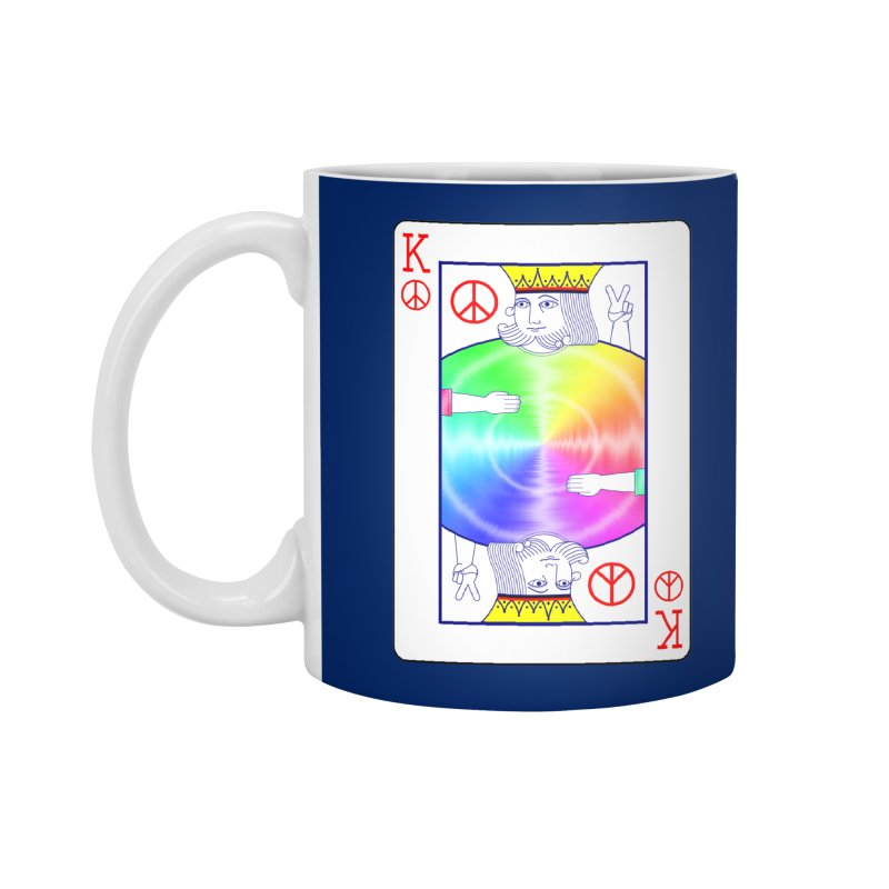 Peace Rules Accessories Standard Mug by Eriklectric's Artist Shop