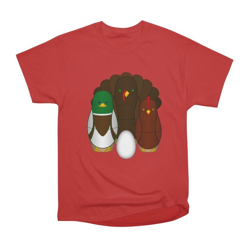 Turducken Men's Heavyweight T-Shirt by Eriklectric's Artist Shop
