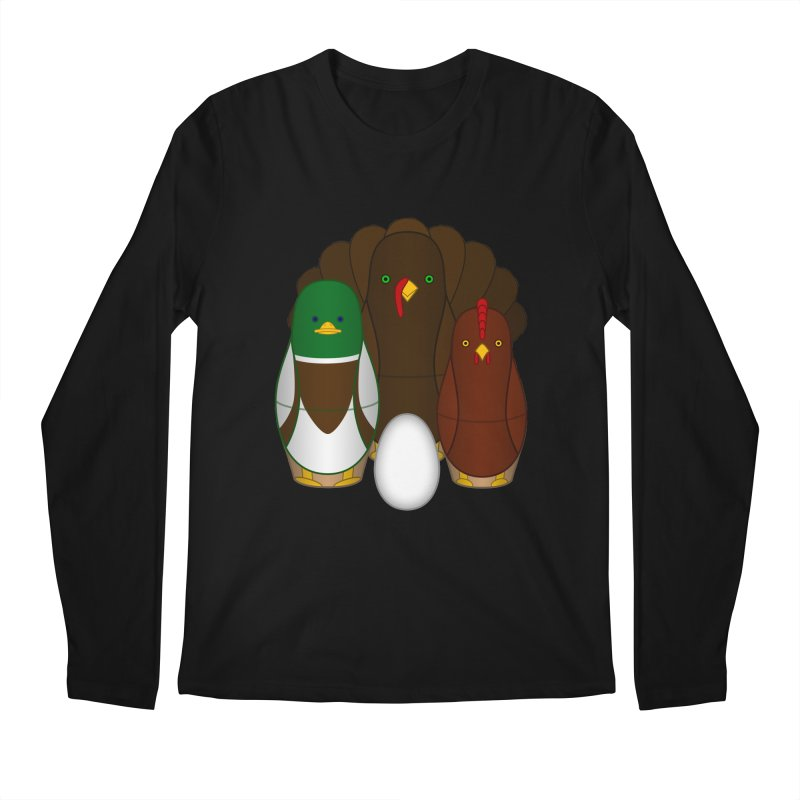 Turducken Men's Regular Longsleeve T-Shirt by Eriklectric's Artist Shop