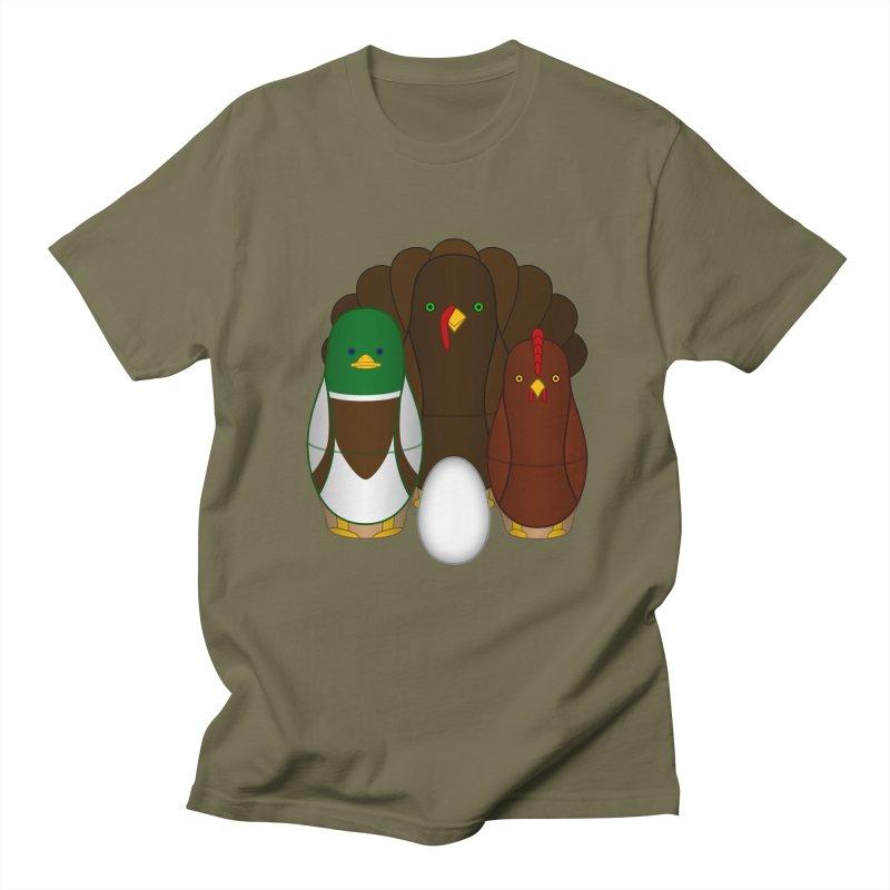 Turducken Men's T-Shirt by Eriklectric's Artist Shop