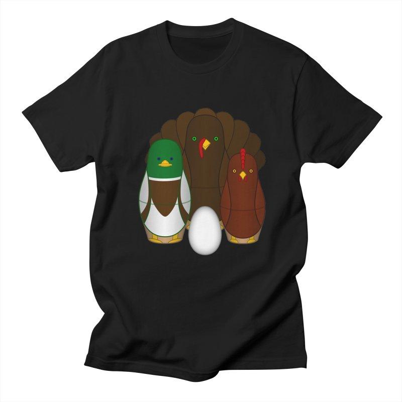 Turducken Men's Regular T-Shirt by Eriklectric's Artist Shop