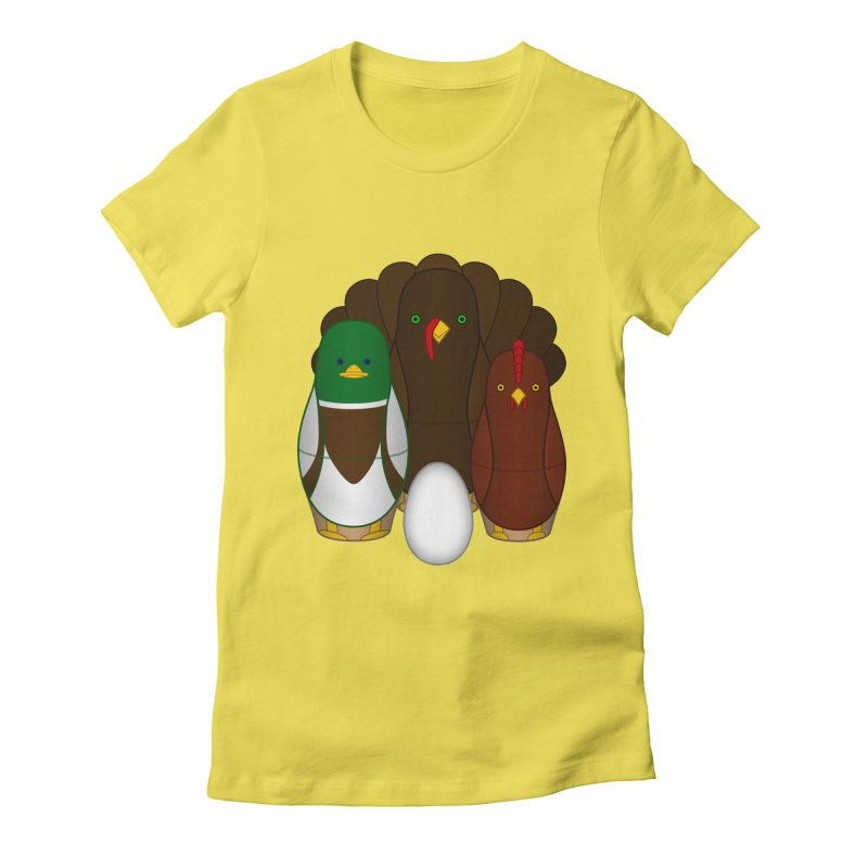 Turducken Women's T-Shirt by Eriklectric's Artist Shop
