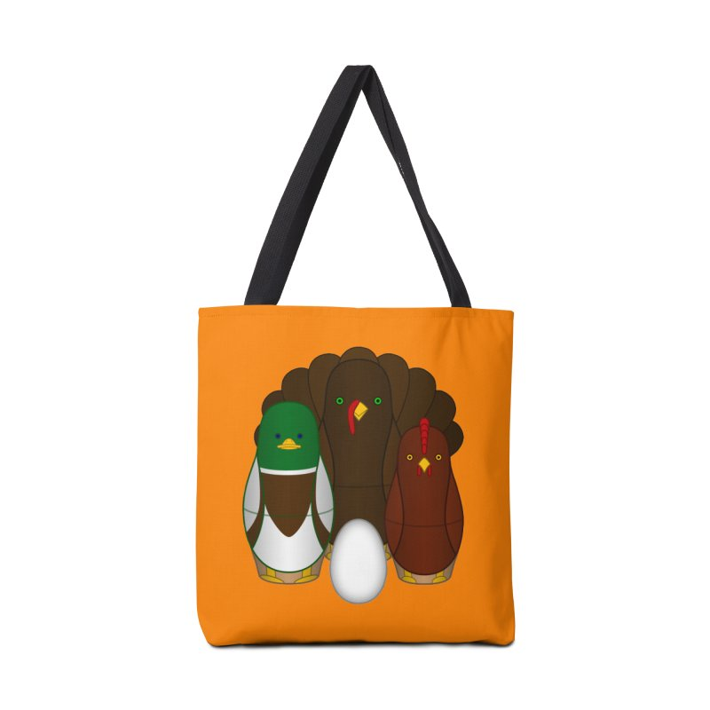 Turducken Accessories Tote Bag Bag by Eriklectric's Artist Shop