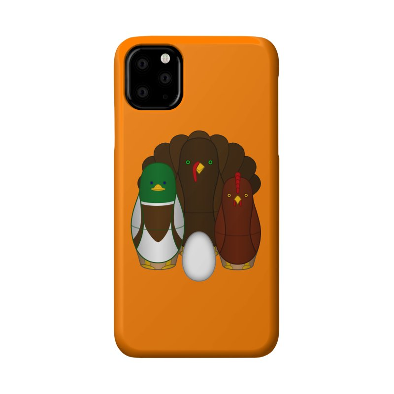 Turducken Accessories Phone Case by Eriklectric's Artist Shop
