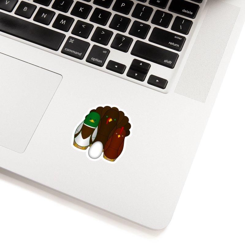 Turducken Accessories Sticker by Eriklectric's Artist Shop