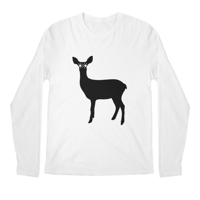 Deer with Headlights Men's Regular Longsleeve T-Shirt by Eriklectric's Artist Shop