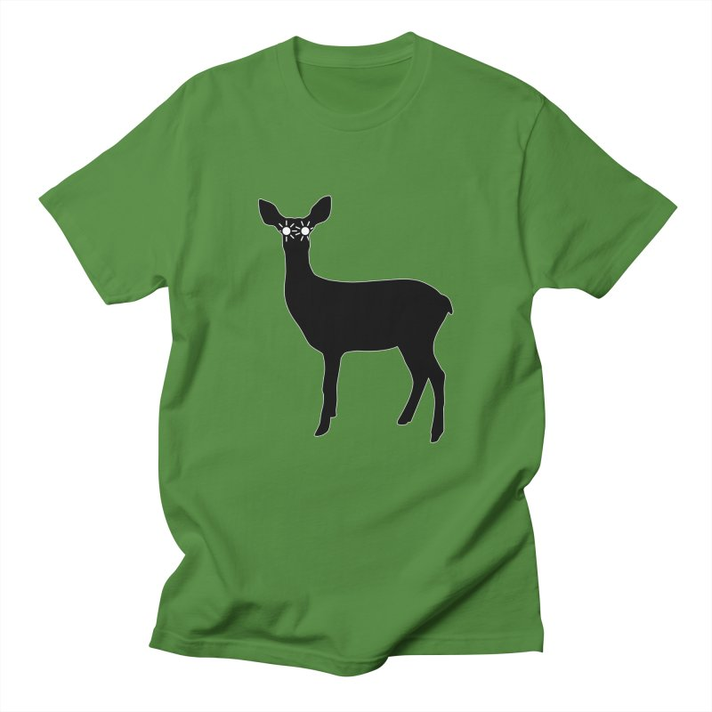Deer with Headlights Men's T-Shirt by Eriklectric's Artist Shop