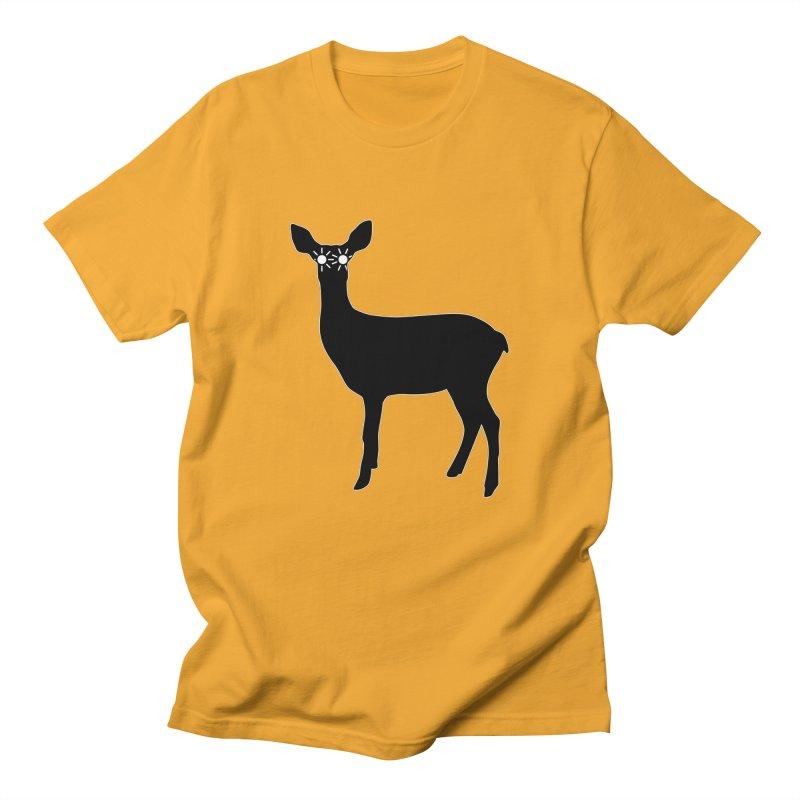 Deer with Headlights Men's Regular T-Shirt by Eriklectric's Artist Shop