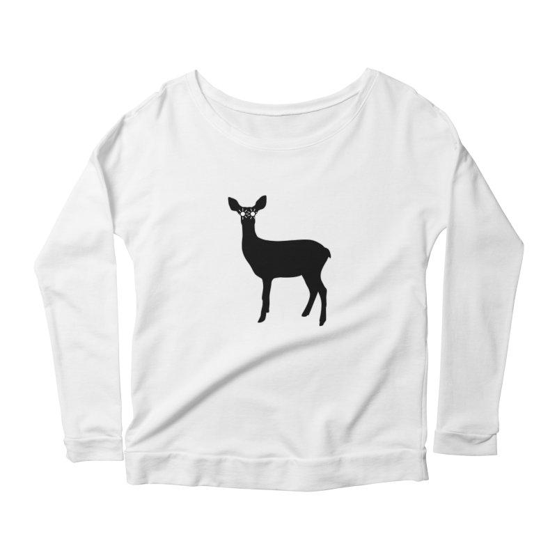 Deer with Headlights Women's Longsleeve T-Shirt by Eriklectric's Artist Shop