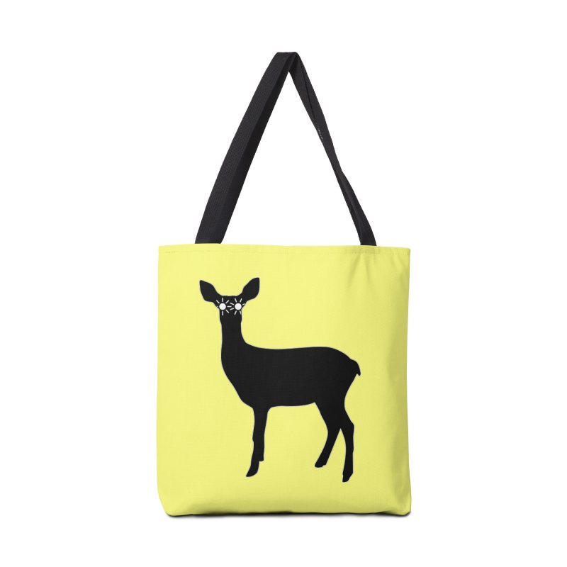 Deer with Headlights Accessories Tote Bag Bag by Eriklectric's Artist Shop