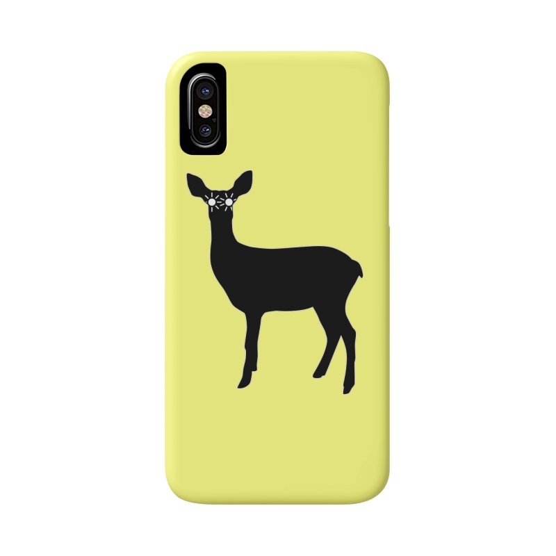 Deer with Headlights Accessories Phone Case by Eriklectric's Artist Shop