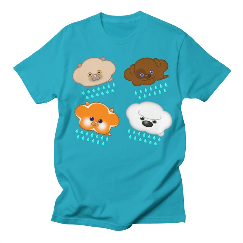 Raining Cats and Dogs Women's T-Shirt by Eriklectric's Artist Shop