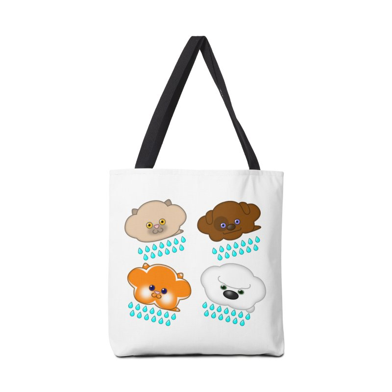 Raining Cats and Dogs Accessories Tote Bag Bag by Eriklectric's Artist Shop