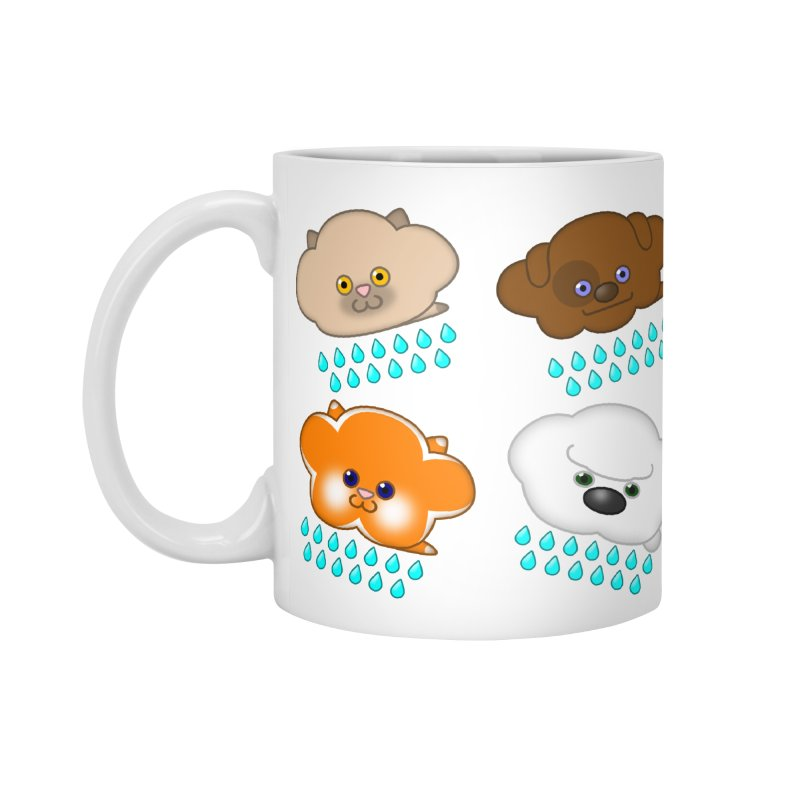 Raining Cats and Dogs Accessories Standard Mug by Eriklectric's Artist Shop