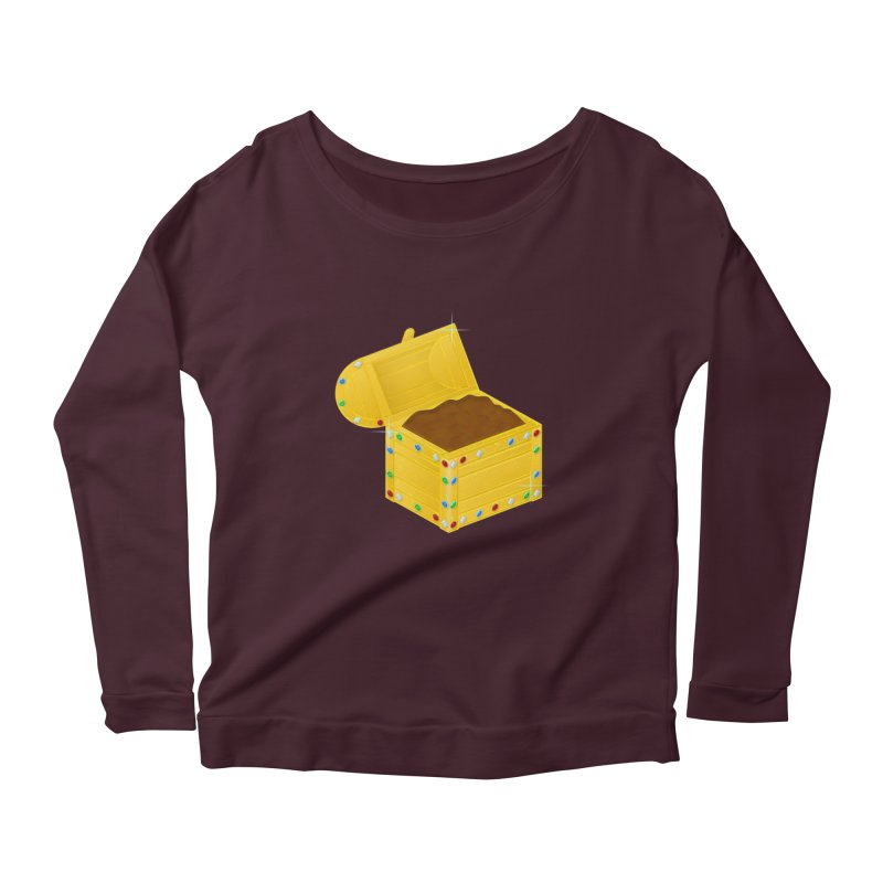 One Man's Treasure Women's Scoop Neck Longsleeve T-Shirt by Eriklectric's Artist Shop