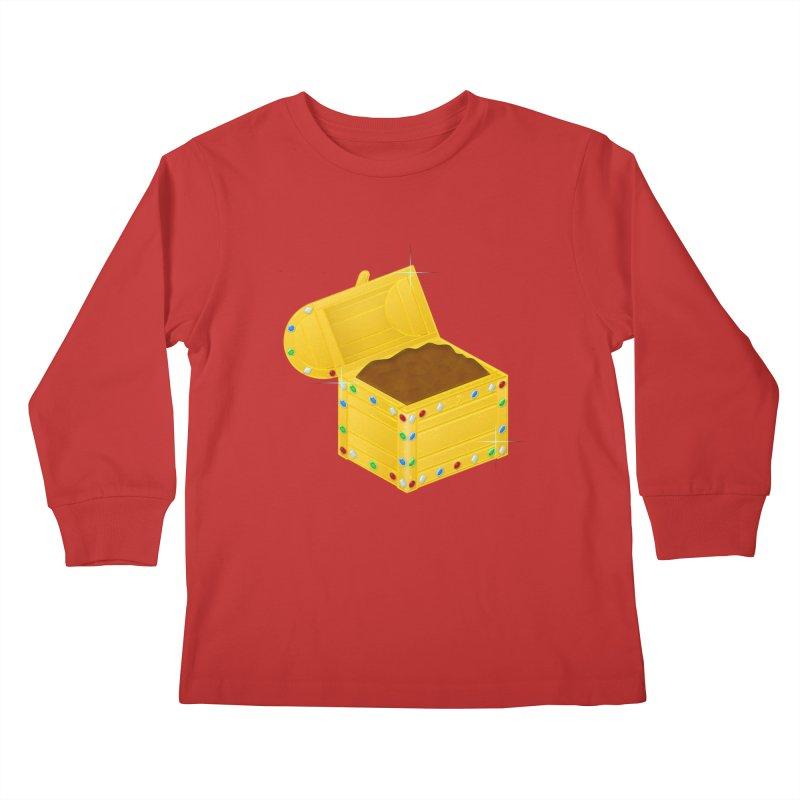 One Man's Treasure Kids Longsleeve T-Shirt by Eriklectric's Artist Shop
