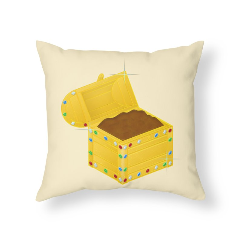 One Man's Treasure Home Throw Pillow by Eriklectric's Artist Shop