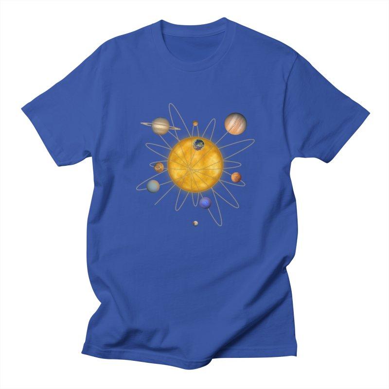 Solar System Atom Women's Regular Unisex T-Shirt by Eriklectric's Artist Shop