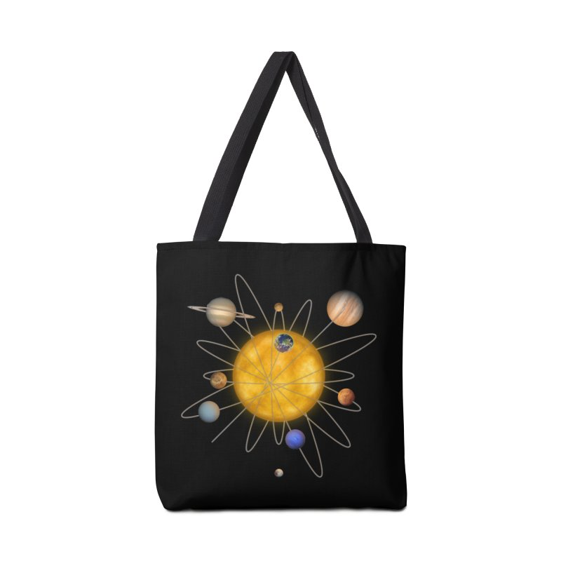 Solar System Atom Accessories Tote Bag Bag by Eriklectric's Artist Shop
