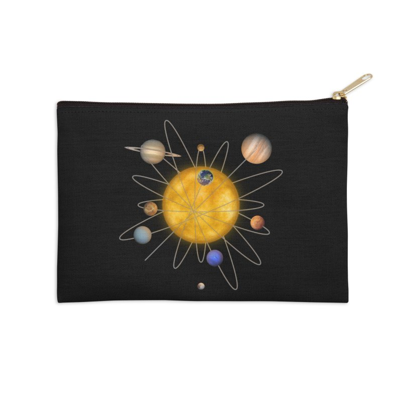 Solar System Atom Accessories Zip Pouch by Eriklectric's Artist Shop