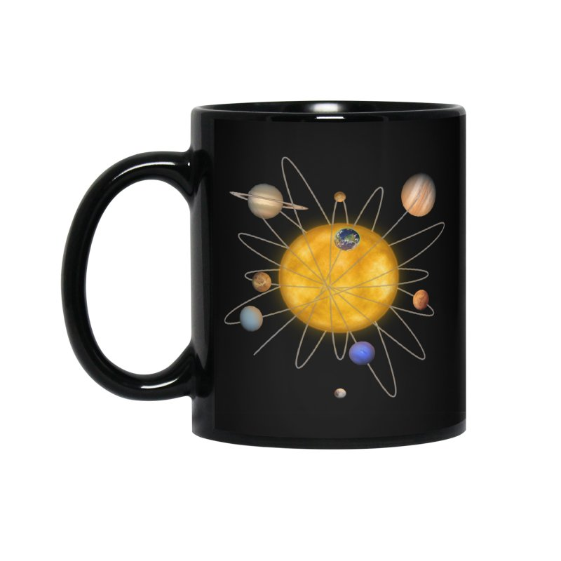 Solar System Atom Accessories Standard Mug by Eriklectric's Artist Shop