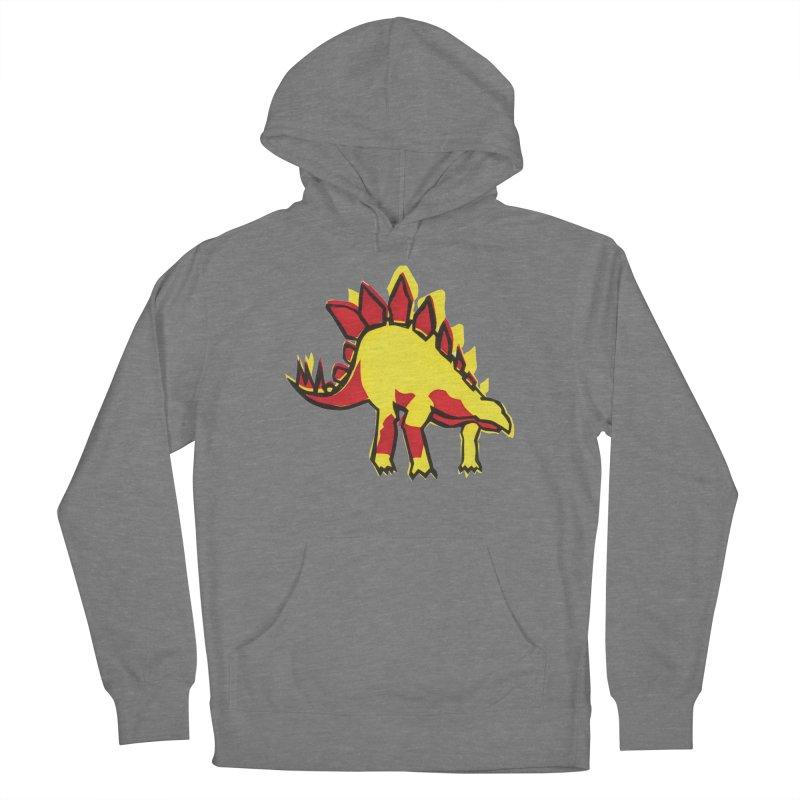 Stegosaurus Men's Pullover Hoody by erintaniguchi's Artist Shop