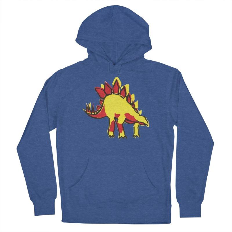 Stegosaurus Men's French Terry Pullover Hoody by erintaniguchi's Artist Shop