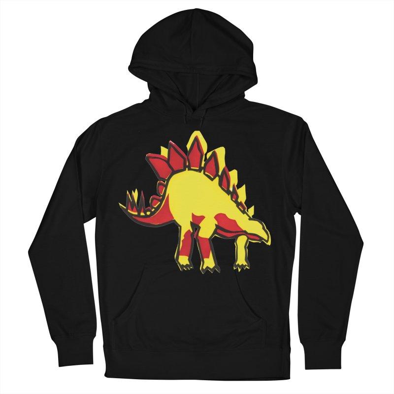 Stegosaurus Women's Pullover Hoody by erintaniguchi's Artist Shop