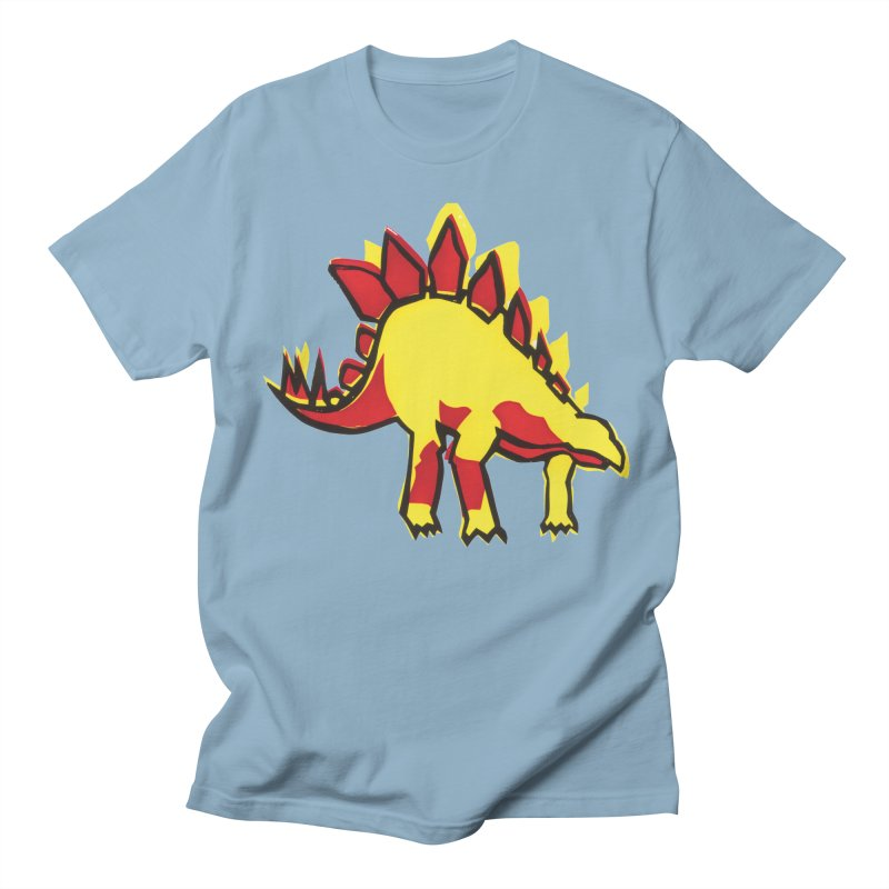 Stegosaurus Men's T-Shirt by erintaniguchi's Artist Shop