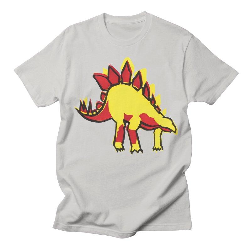 Stegosaurus Men's T-Shirt by erintaniguchi's Artist Shop