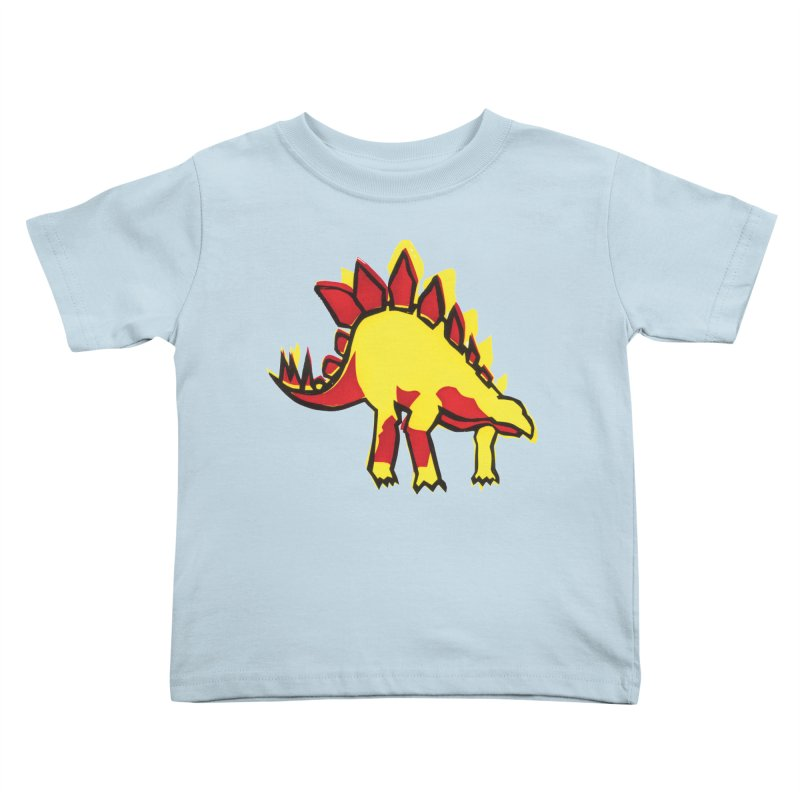 Stegosaurus Kids Toddler T-Shirt by erintaniguchi's Artist Shop