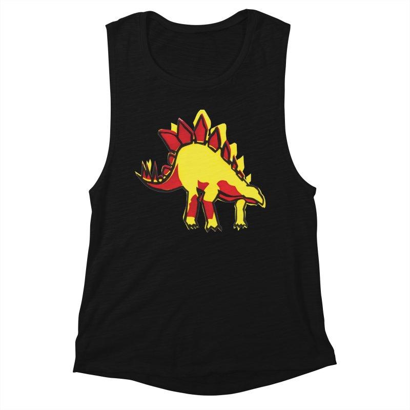 Stegosaurus Women's Muscle Tank by erintaniguchi's Artist Shop