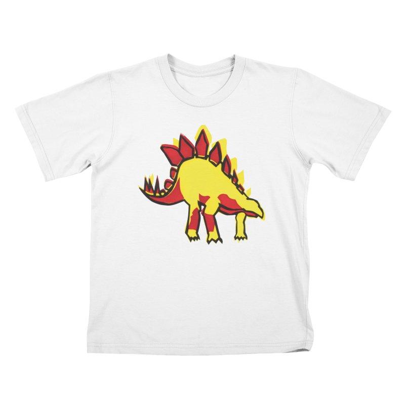 Stegosaurus Kids T-Shirt by erintaniguchi's Artist Shop