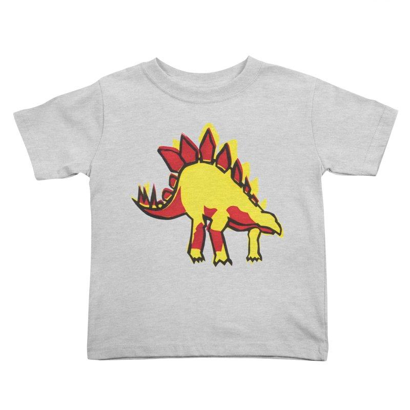 Stegosaurus Kids Toddler T-Shirt by erintaniguchi's Artist Shop