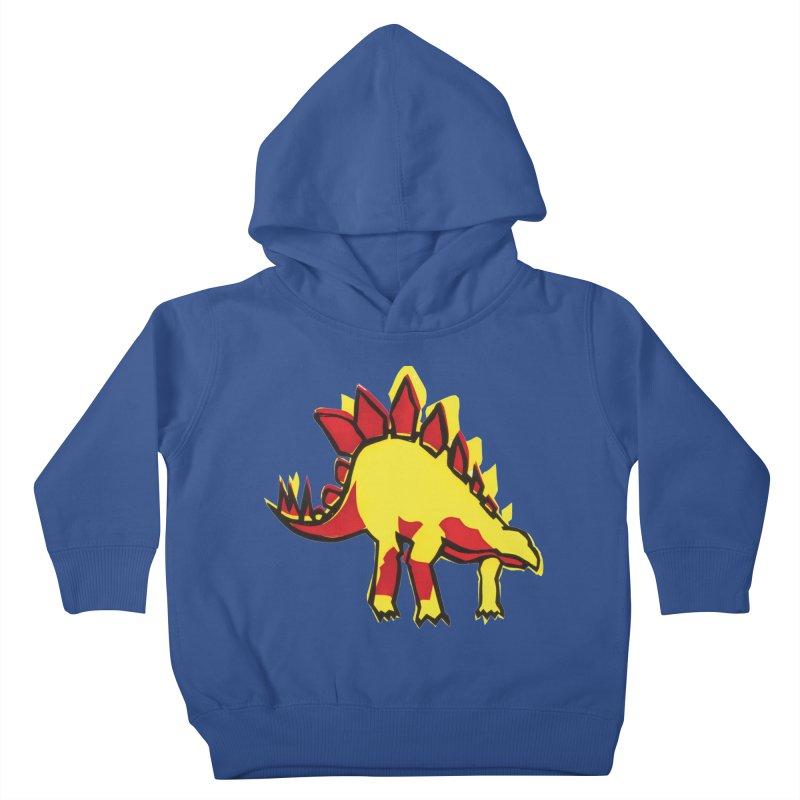 Stegosaurus Kids Toddler Pullover Hoody by erintaniguchi's Artist Shop