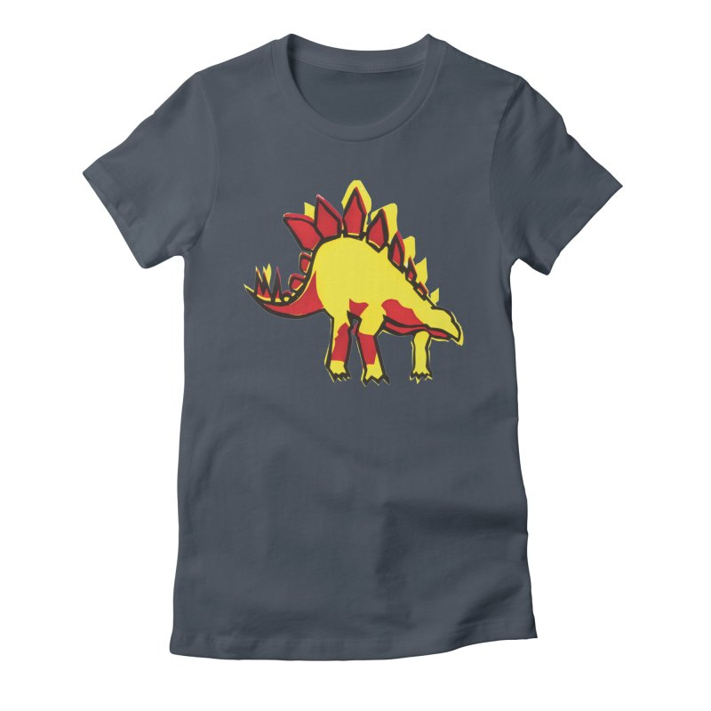 Stegosaurus Women's T-Shirt by erintaniguchi's Artist Shop