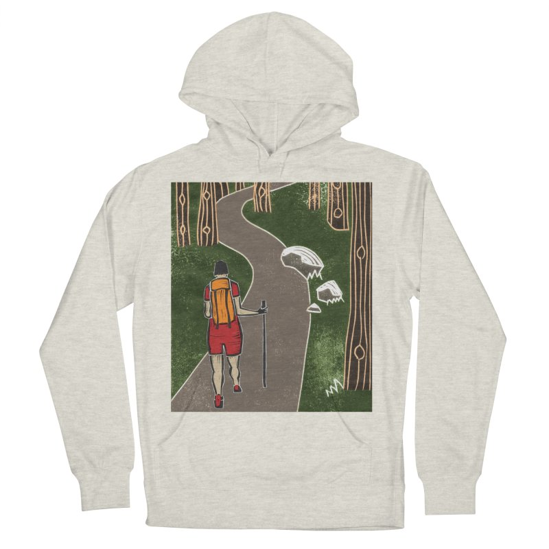 Hiker Women's French Terry Pullover Hoody by erintaniguchi's Artist Shop