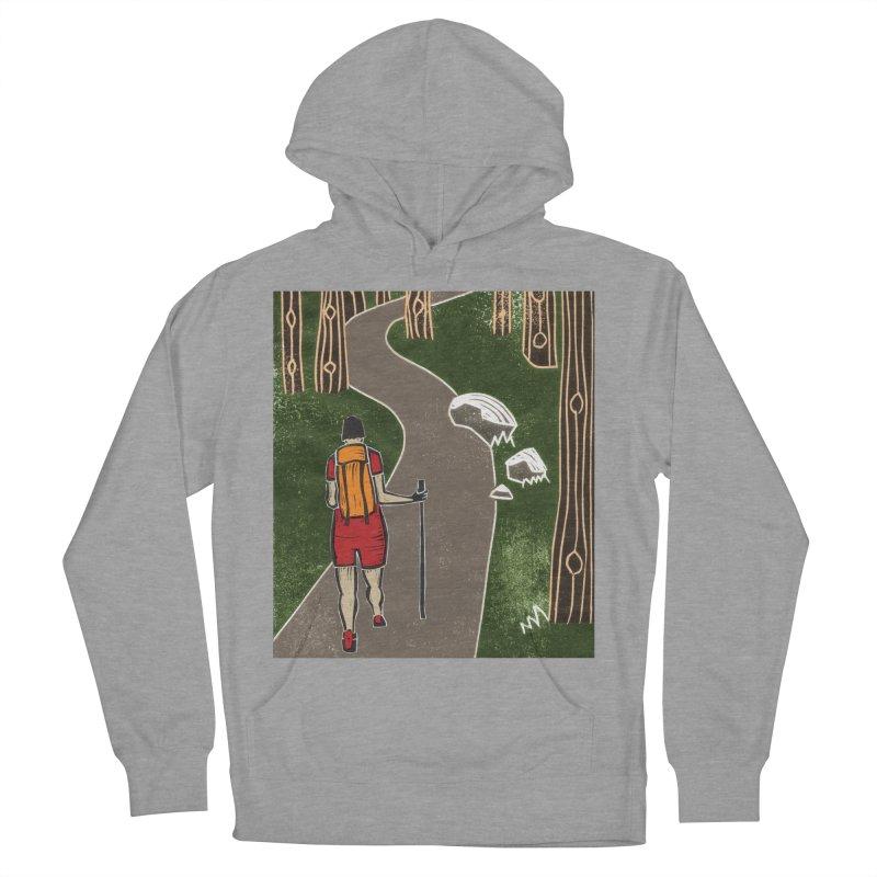 Hiker Men's Pullover Hoody by erintaniguchi's Artist Shop