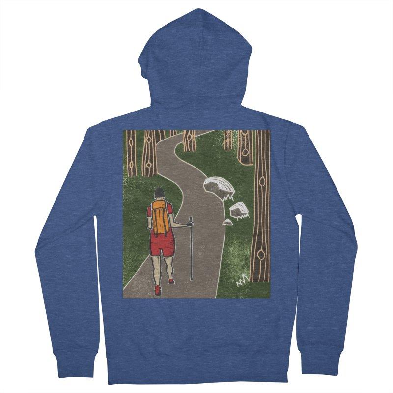 Hiker Women's Zip-Up Hoody by erintaniguchi's Artist Shop