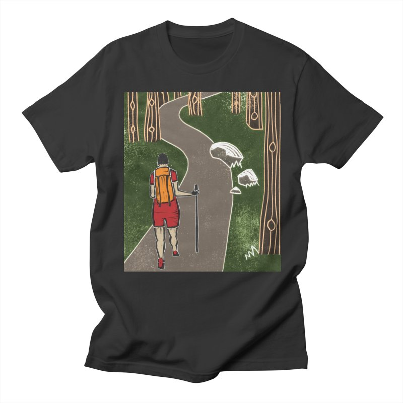 Hiker Men's T-Shirt by erintaniguchi's Artist Shop