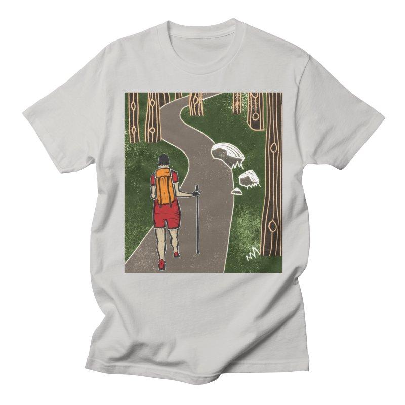 Hiker Men's Regular T-Shirt by erintaniguchi's Artist Shop