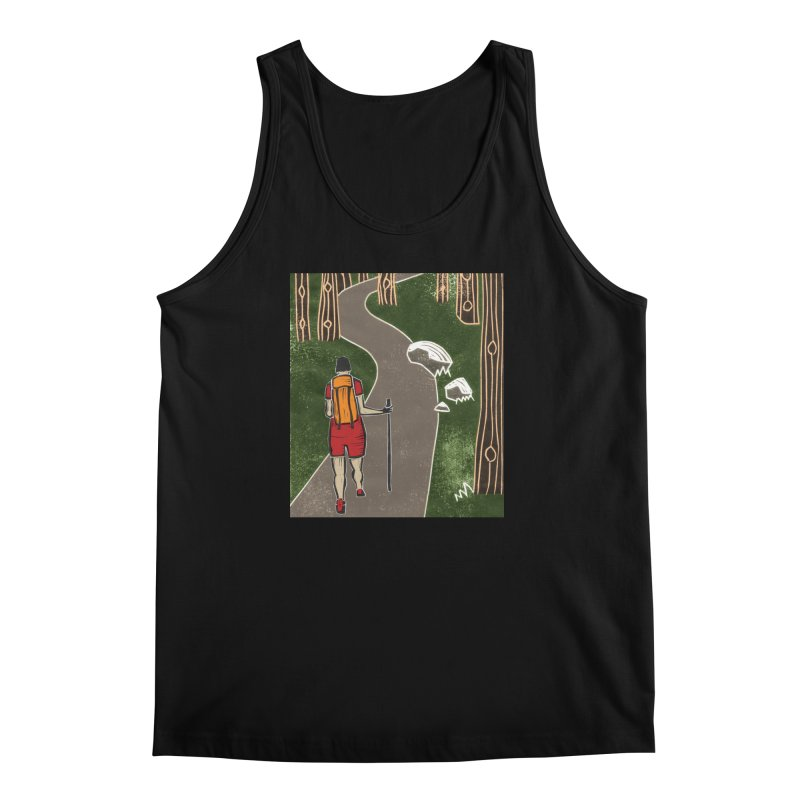 Hiker Men's Tank by erintaniguchi's Artist Shop