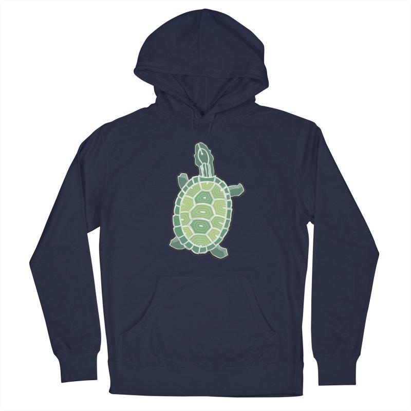 Turtle Men's French Terry Pullover Hoody by erintaniguchi's Artist Shop