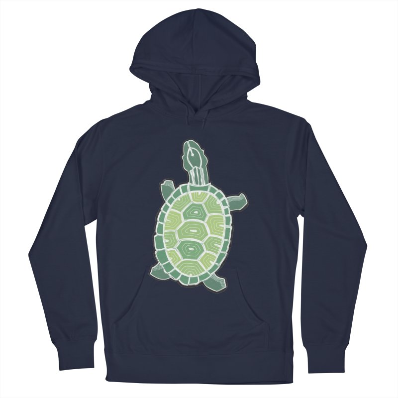 Turtle Women's French Terry Pullover Hoody by erintaniguchi's Artist Shop